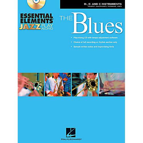 Hal Leonard Essential Elements Jazz Play-Along - The Blues (B-Flat, E-Flat, and C-Instruments) Book/CD thumbnail