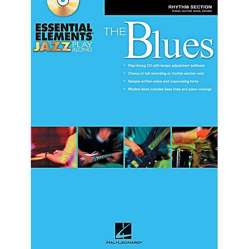 Hal Leonard Essential Elements Jazz Play-Along - The Blues (Rhythm Section) Book/CD thumbnail