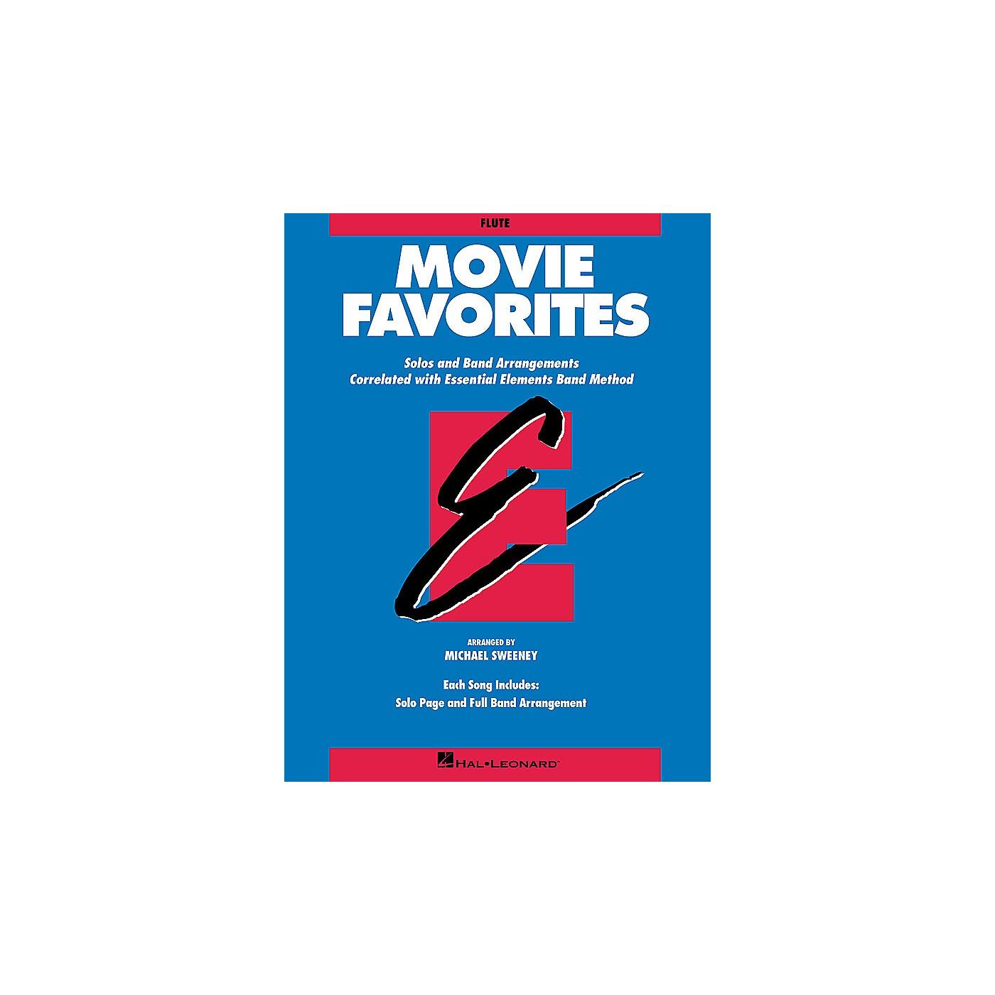 Hal Leonard Essential Elements Movie Favorites Essential Elements Band Folios Series Book by Michael Sweeney thumbnail