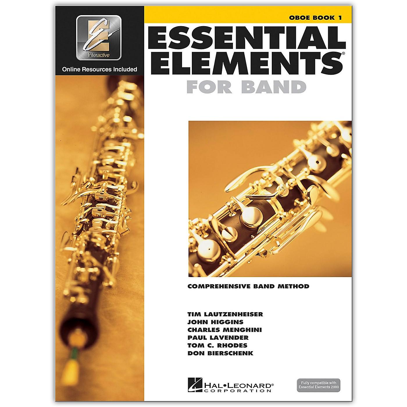 Hal Leonard Essential Elements Oboe 1 Book/Online Audio thumbnail
