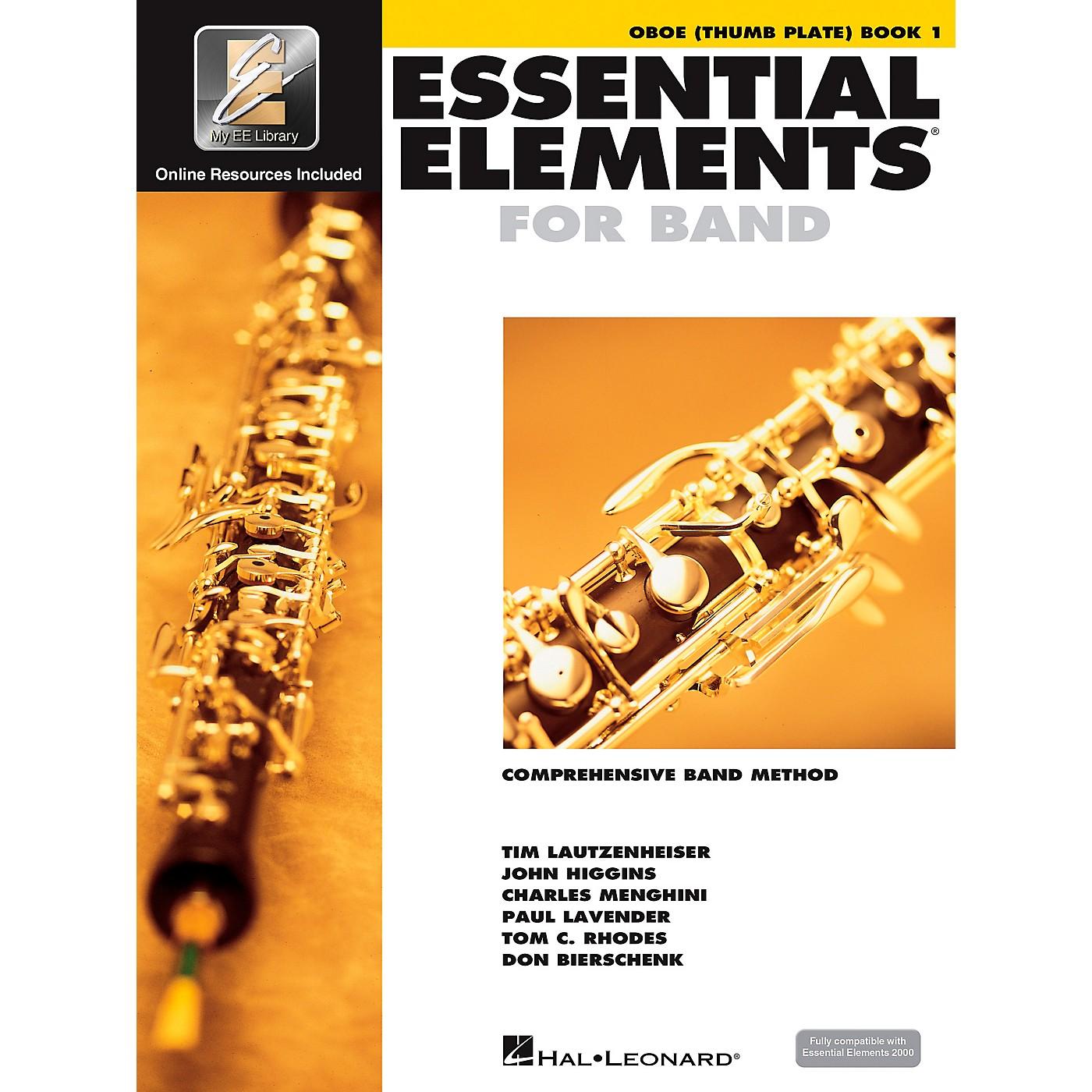 Hal Leonard Essential Elements Oboe Thumb Plate (Book/CD) thumbnail