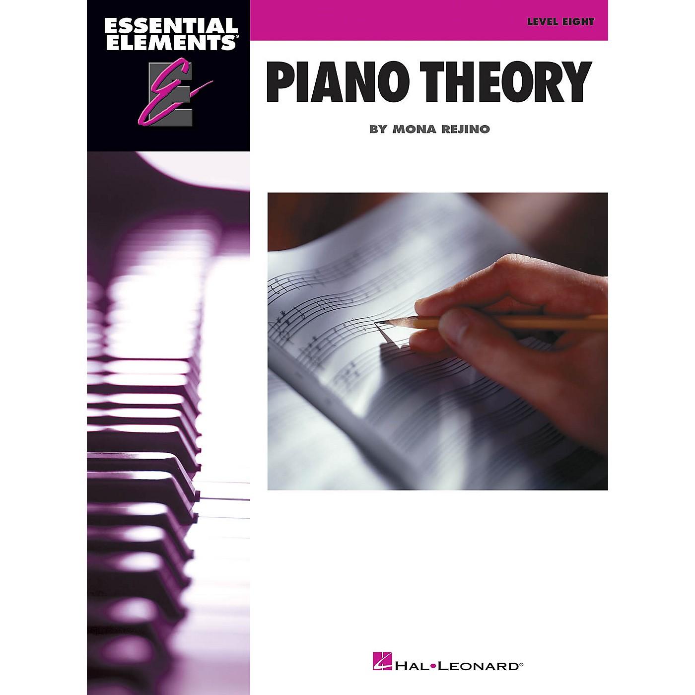 Hal Leonard Essential Elements Piano Theory - Level 8 by Mona Rejino thumbnail