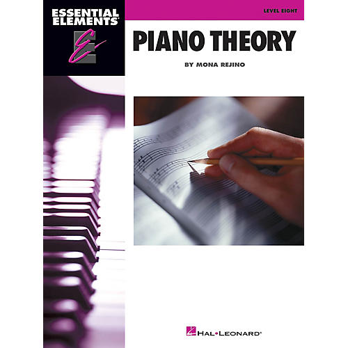 Hal Leonard Essential Elements Piano Theory - Level 8 by Mona Rejino thumbnail
