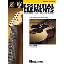 Hal Leonard Essential Elements Pour La Guitare 1 Essential Elements Guitar Series Softcover with CD by Various