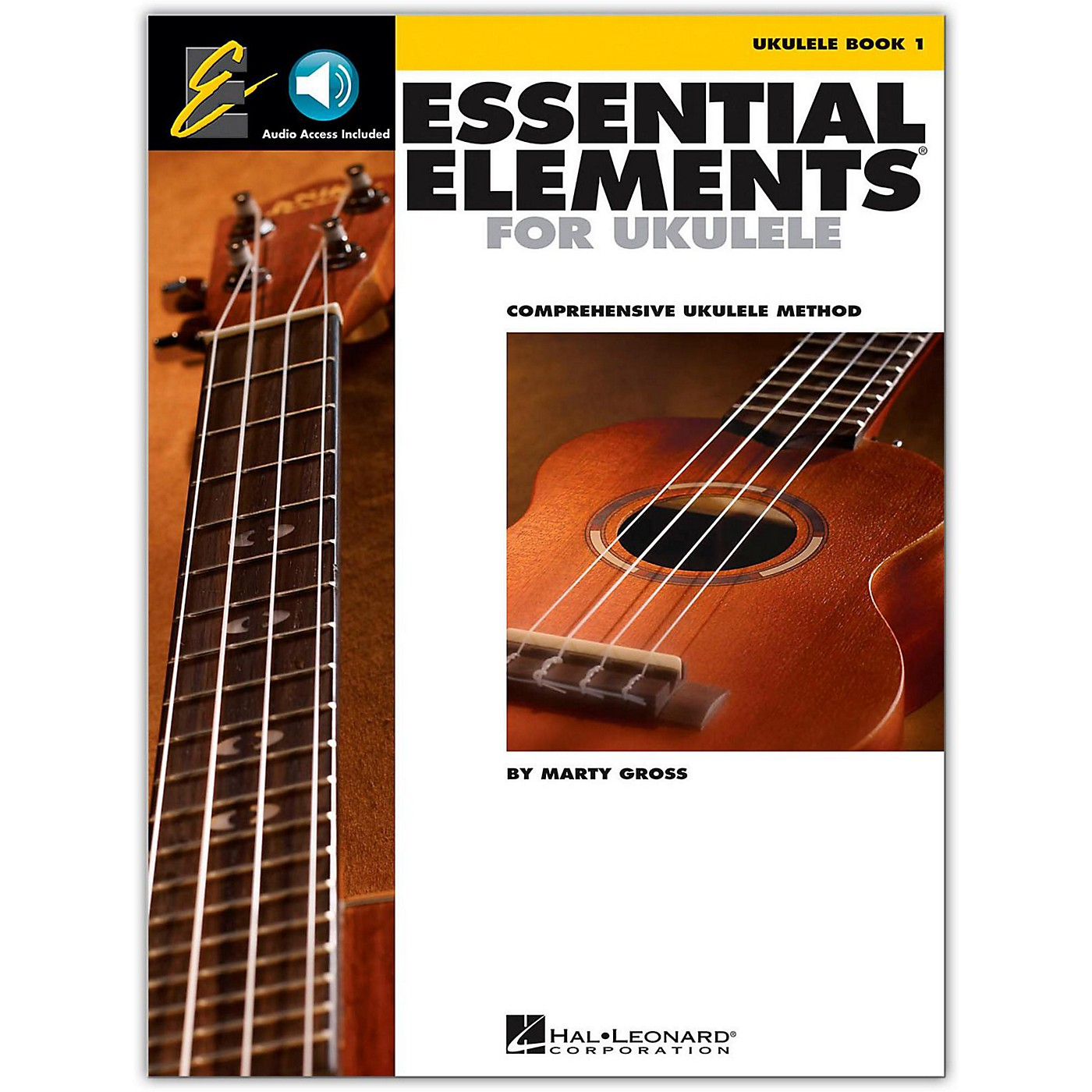 Hal Leonard Essential Elements Ukulele Method Book 1 (Book/Online Audio) thumbnail