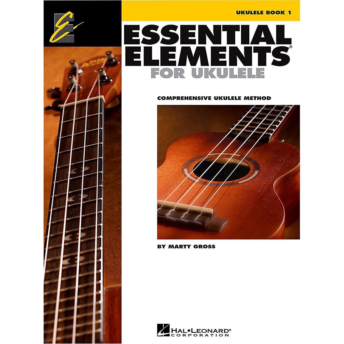 Hal Leonard Essential Elements Ukulele Method Book 1 thumbnail