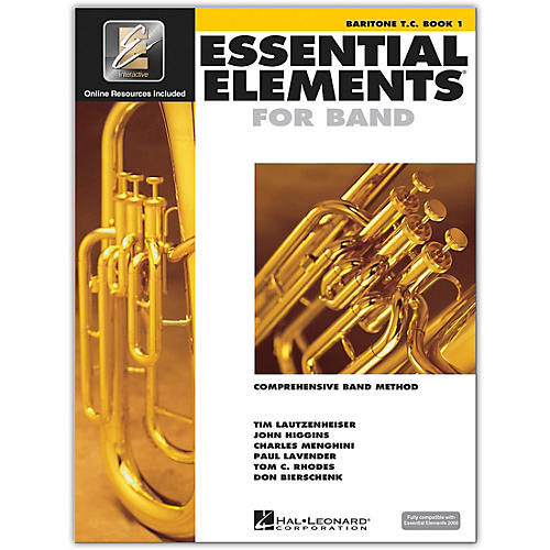 Hal Leonard Essential Elements for Band - Baritone T.C. 1 Book/Online Audio thumbnail