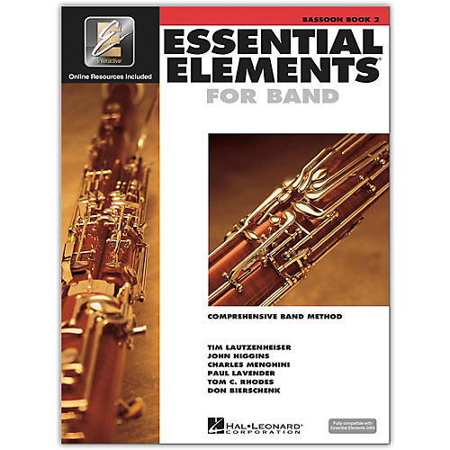 Hal Leonard Essential Elements for Band - Bassoon 2 Book/Online Audio thumbnail
