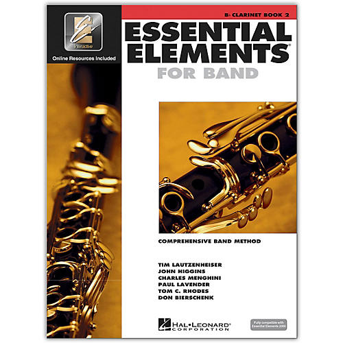 Hal Leonard Essential Elements for Band - Bb Clarinet 2 Book/Online Audio thumbnail