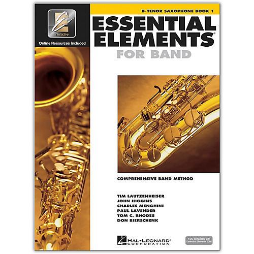 Hal Leonard Essential Elements for Band - Bb Tenor Saxophone 1 Book/Online Audio thumbnail