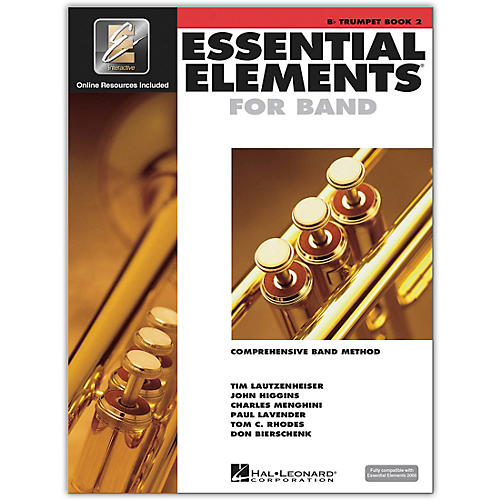 Hal Leonard Essential Elements for Band - Bb Trumpet 2 Book/Online Audio thumbnail