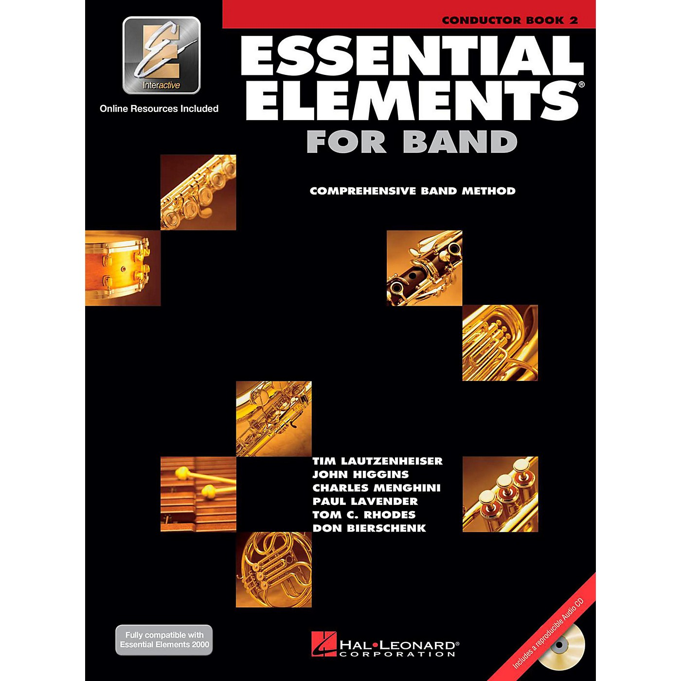 Hal Leonard Essential Elements for Band - Conductor Score (Book 2 with EEi and CD) thumbnail