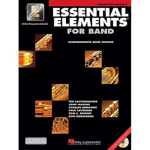 Hal Leonard Essential Elements for Band - Conductor Score (Book 2 with EEi and CD)-thumbnail