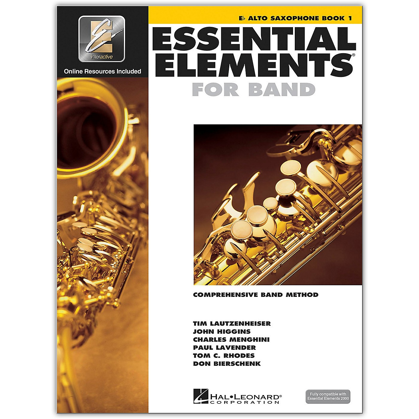 Hal Leonard Essential Elements for Band - Eb Alto Saxophone 1 Book/Online Audio thumbnail