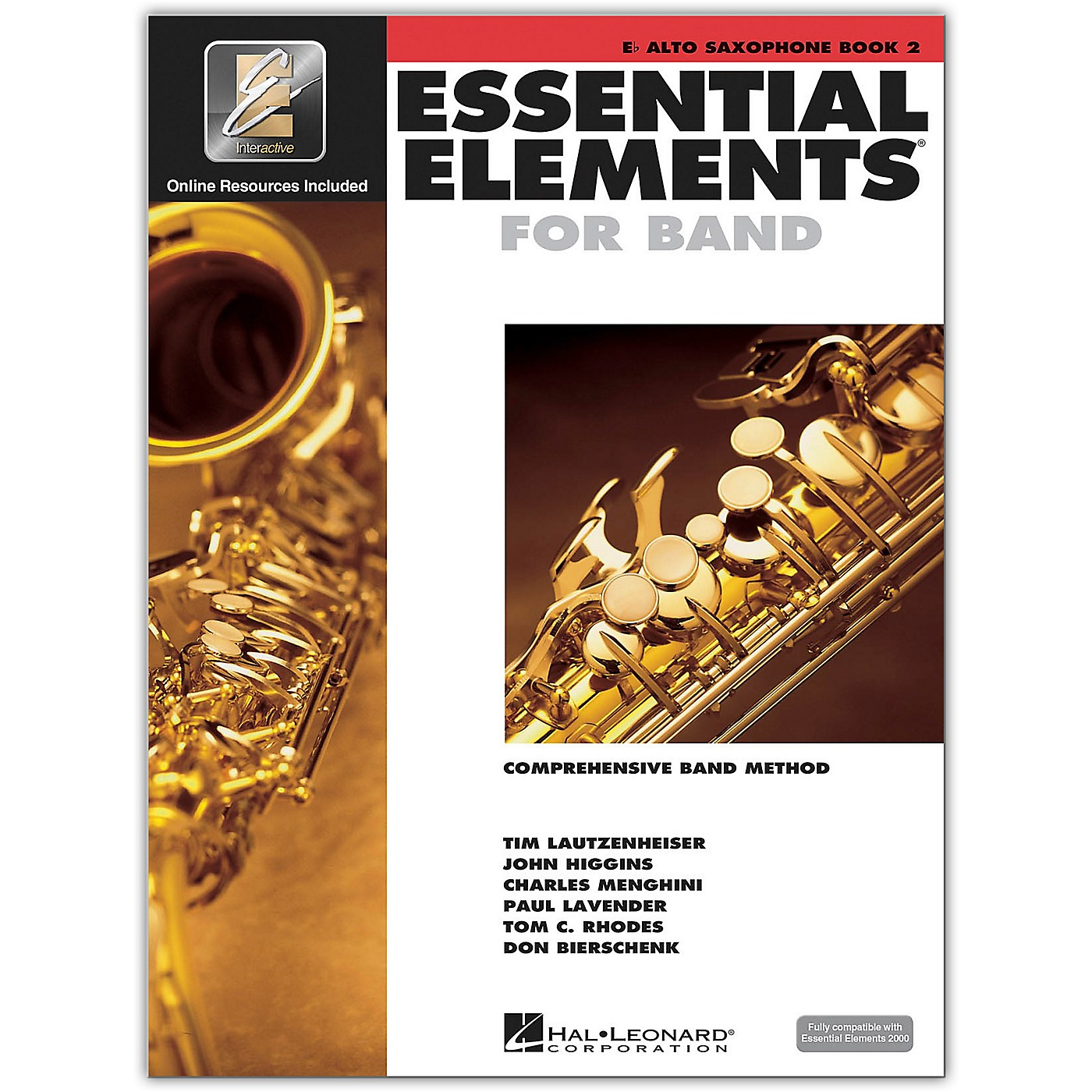 Hal Leonard Essential Elements for Band - Eb Alto Saxophone 2 Book/Online Audio thumbnail