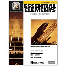 Hal Leonard Essential Elements for Band - Electric Bass 1 Book/Online Audio