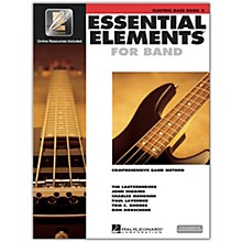 Hal Leonard Essential Elements for Band - Electric Bass 2 Book/Online Audio