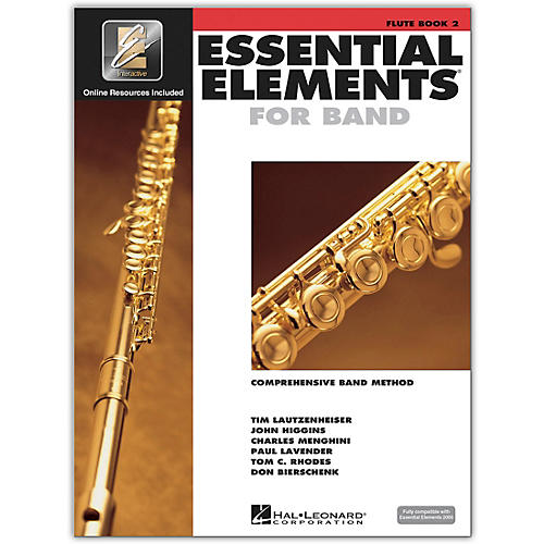 Hal Leonard Essential Elements for Band - Flute (Book 2 with EEi)-thumbnail