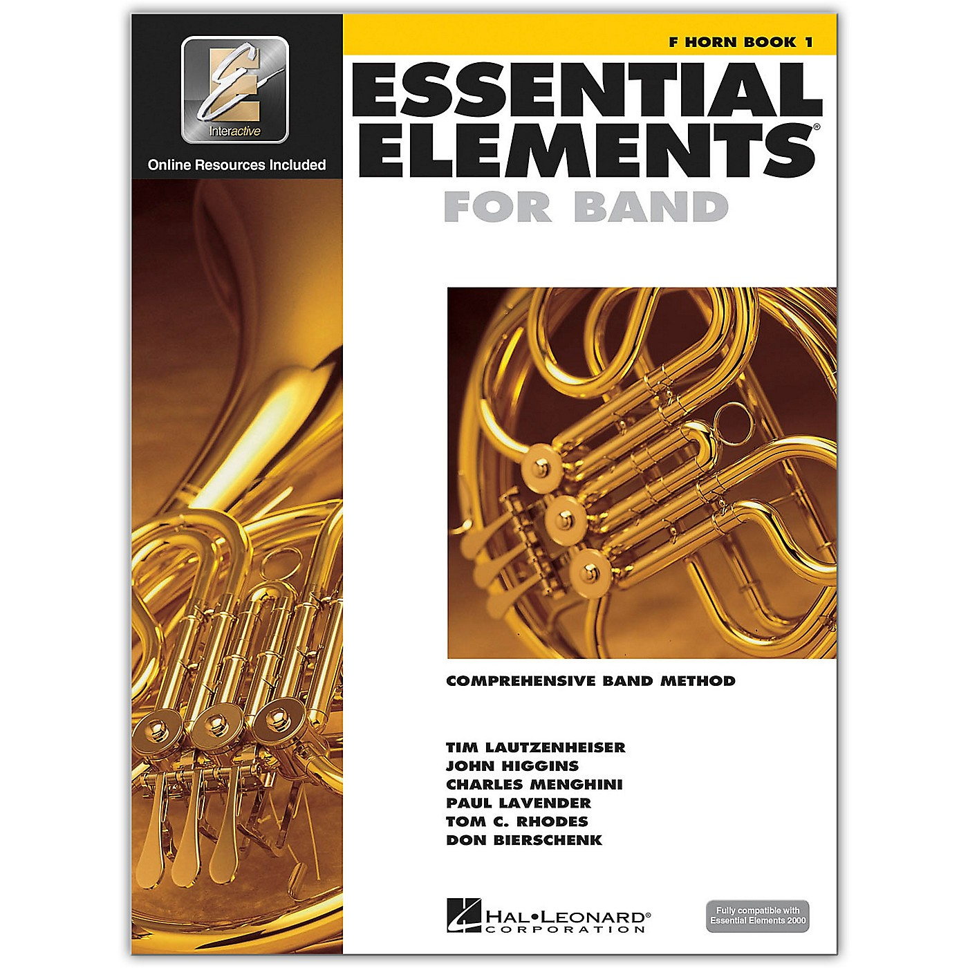 Hal Leonard Essential Elements for Band - French Horn 1 Book/Online Audio thumbnail