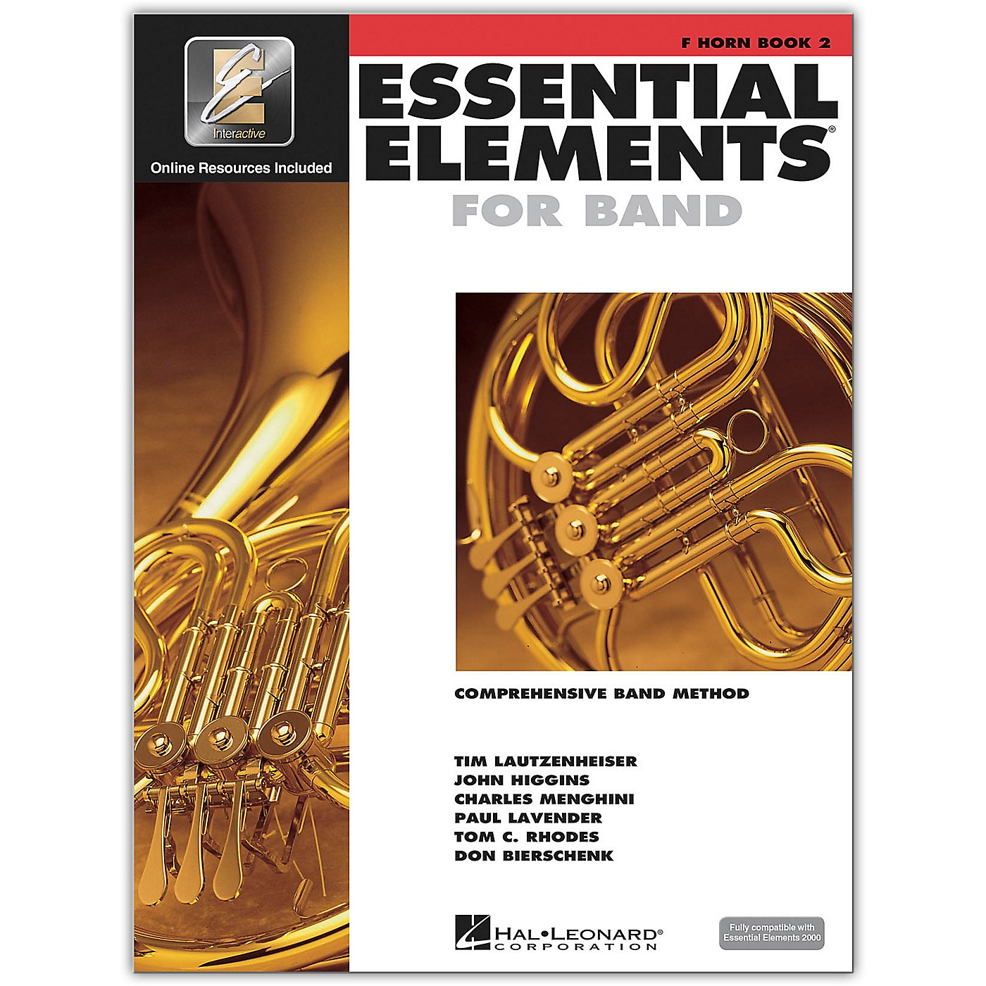 Hal Leonard Essential Elements for Band - French Horn 2 Book/Online Audio thumbnail