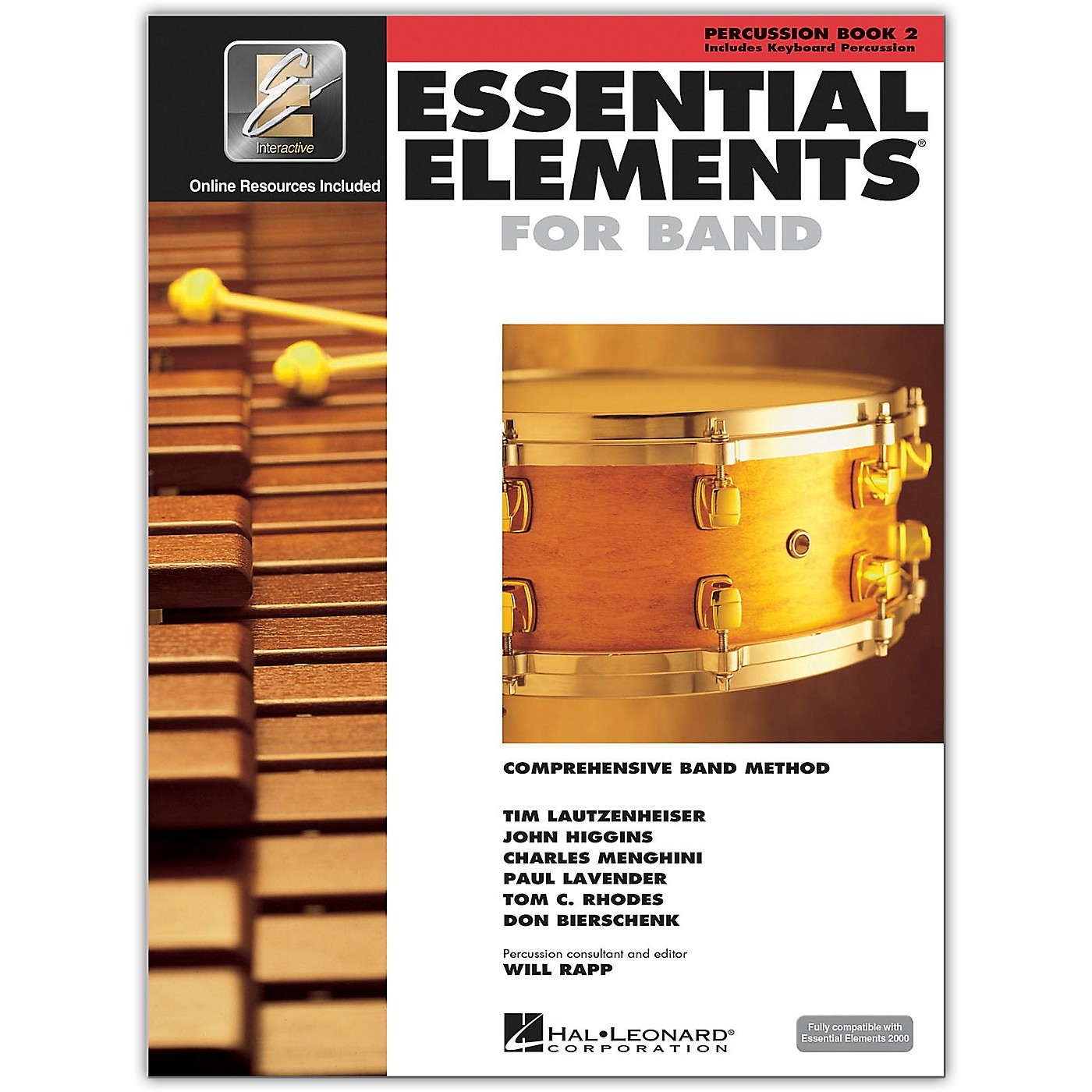Hal Leonard Essential Elements for Band - Percussion and Keyboard Percussion 2 Book/Online Audio thumbnail