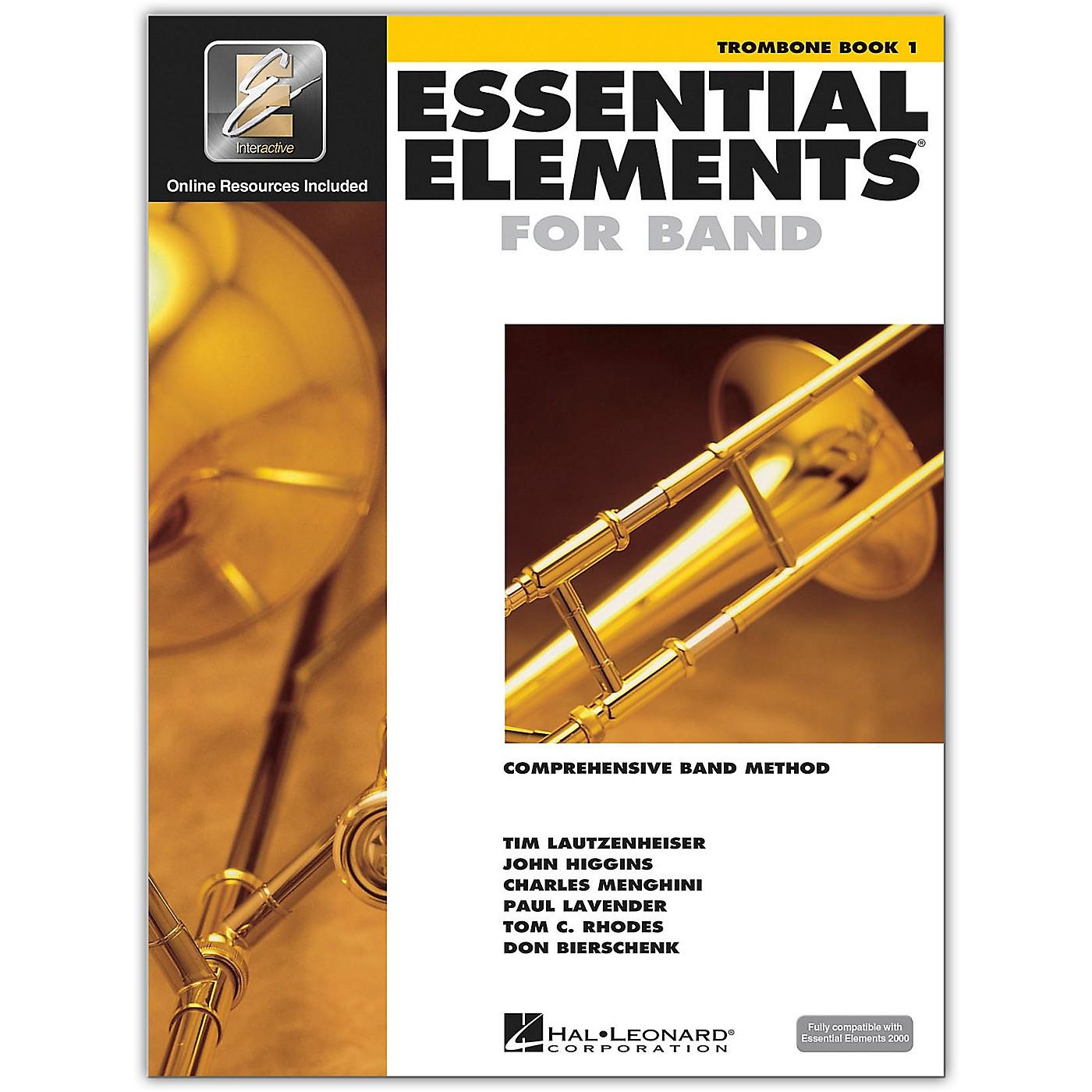 Hal Leonard Essential Elements for Band - Trombone 1 Book/Online Audio thumbnail