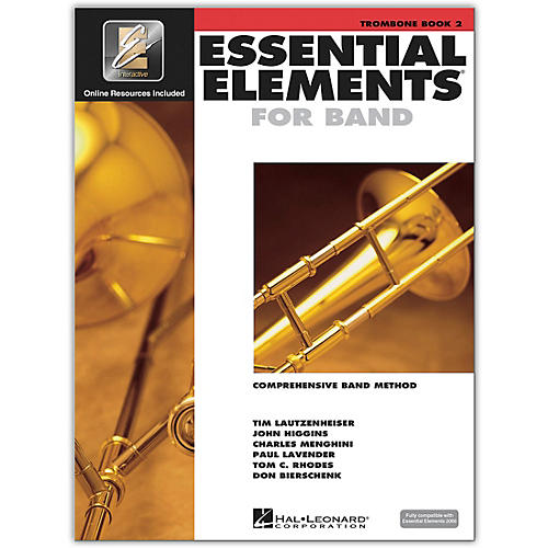 Hal Leonard Essential Elements for Band - Trombone 2 Book/Online Audio thumbnail
