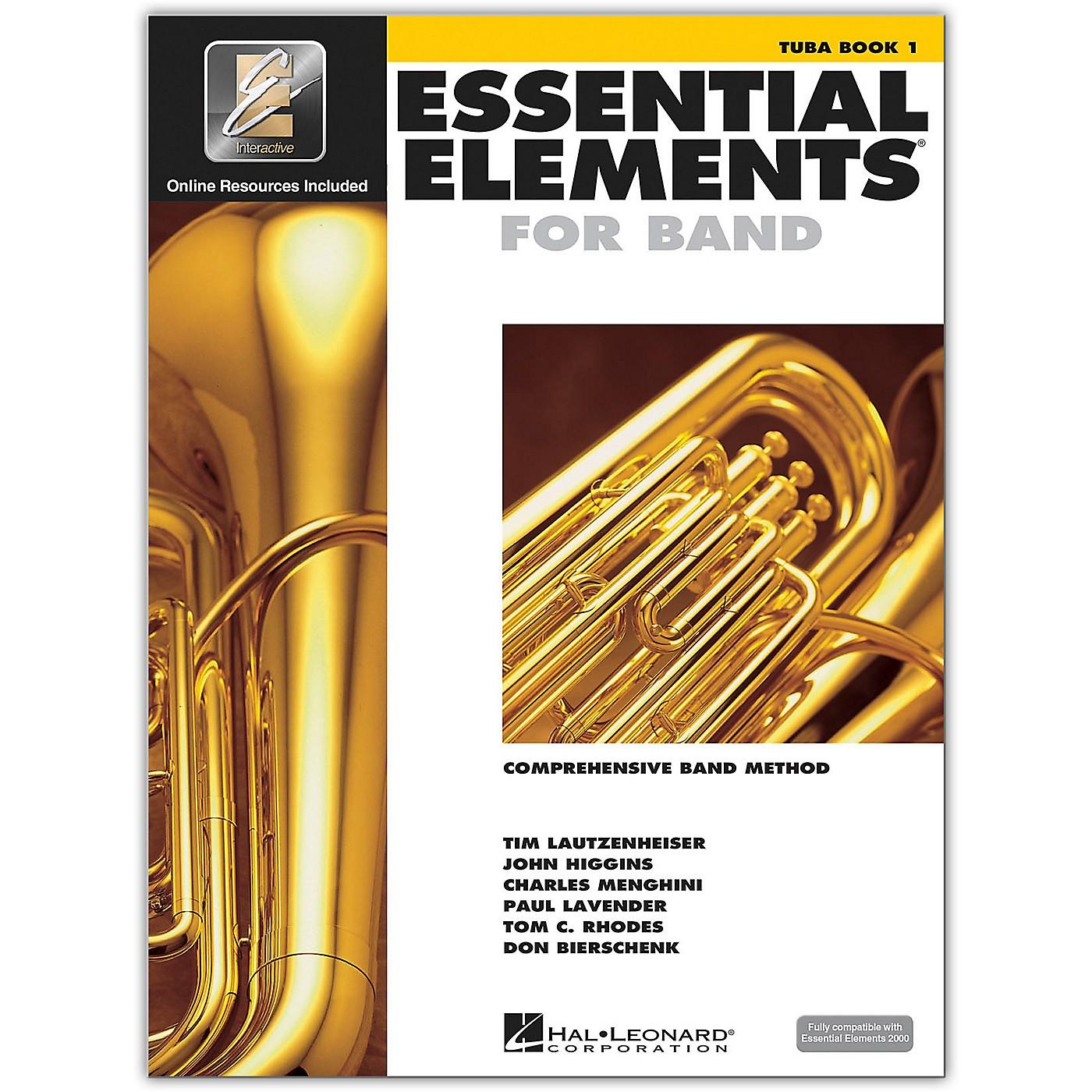 Hal Leonard Essential Elements for Band - Tuba 1 Book/Online Audio thumbnail