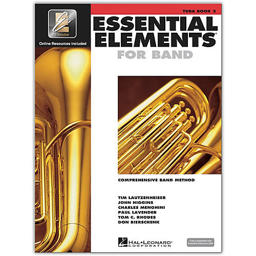 Hal Leonard Essential Elements for Band - Tuba 2 Book/Online Audio thumbnail