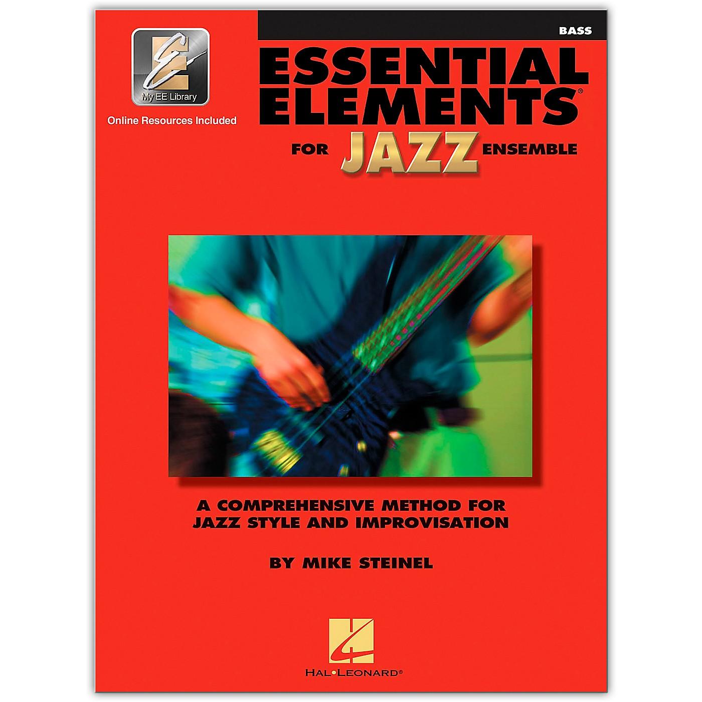 Hal Leonard Essential Elements for Jazz Ensemble - Bass (Book/Online Audio) thumbnail
