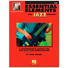 Hal Leonard Essential Elements for Jazz Ensemble - Bass (Book/Online Audio)
