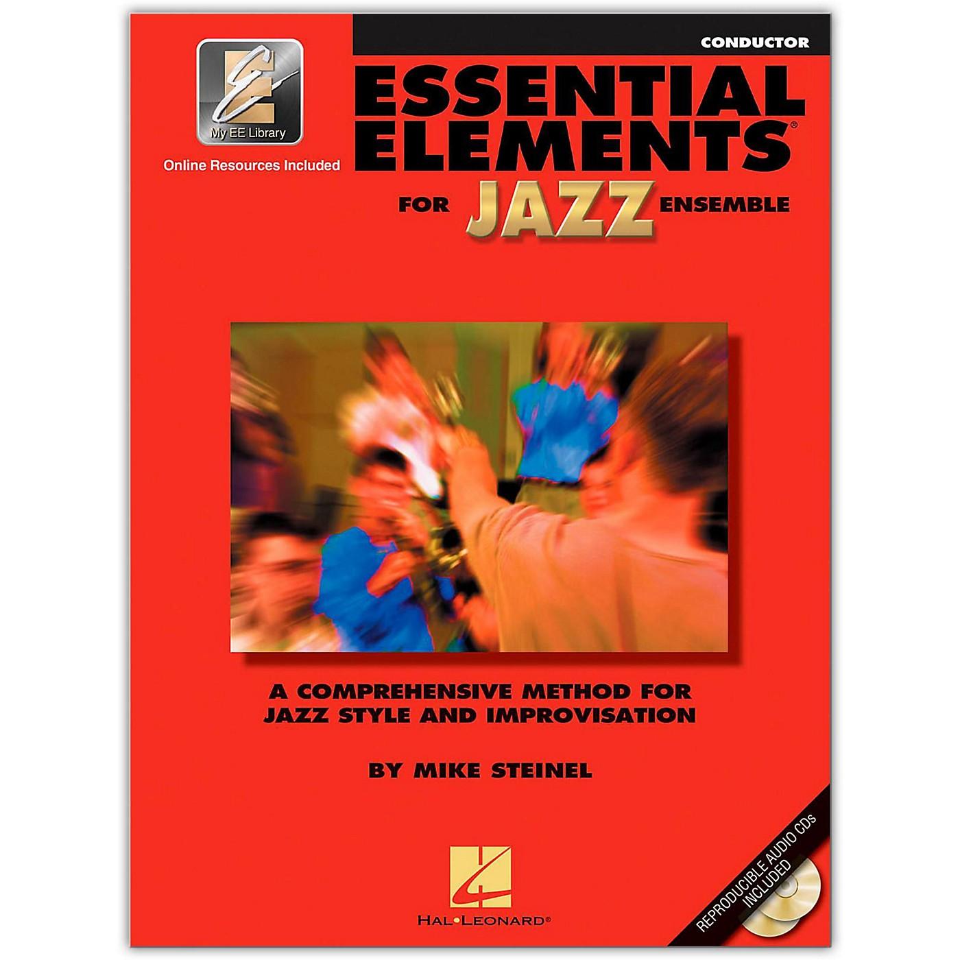 Hal Leonard Essential Elements for Jazz Ensemble - Conductor (Book/Online Audio) thumbnail