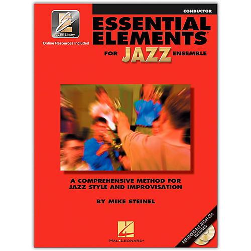 Hal Leonard Essential Elements for Jazz Ensemble - Conductor (Book/Online Audio)-thumbnail