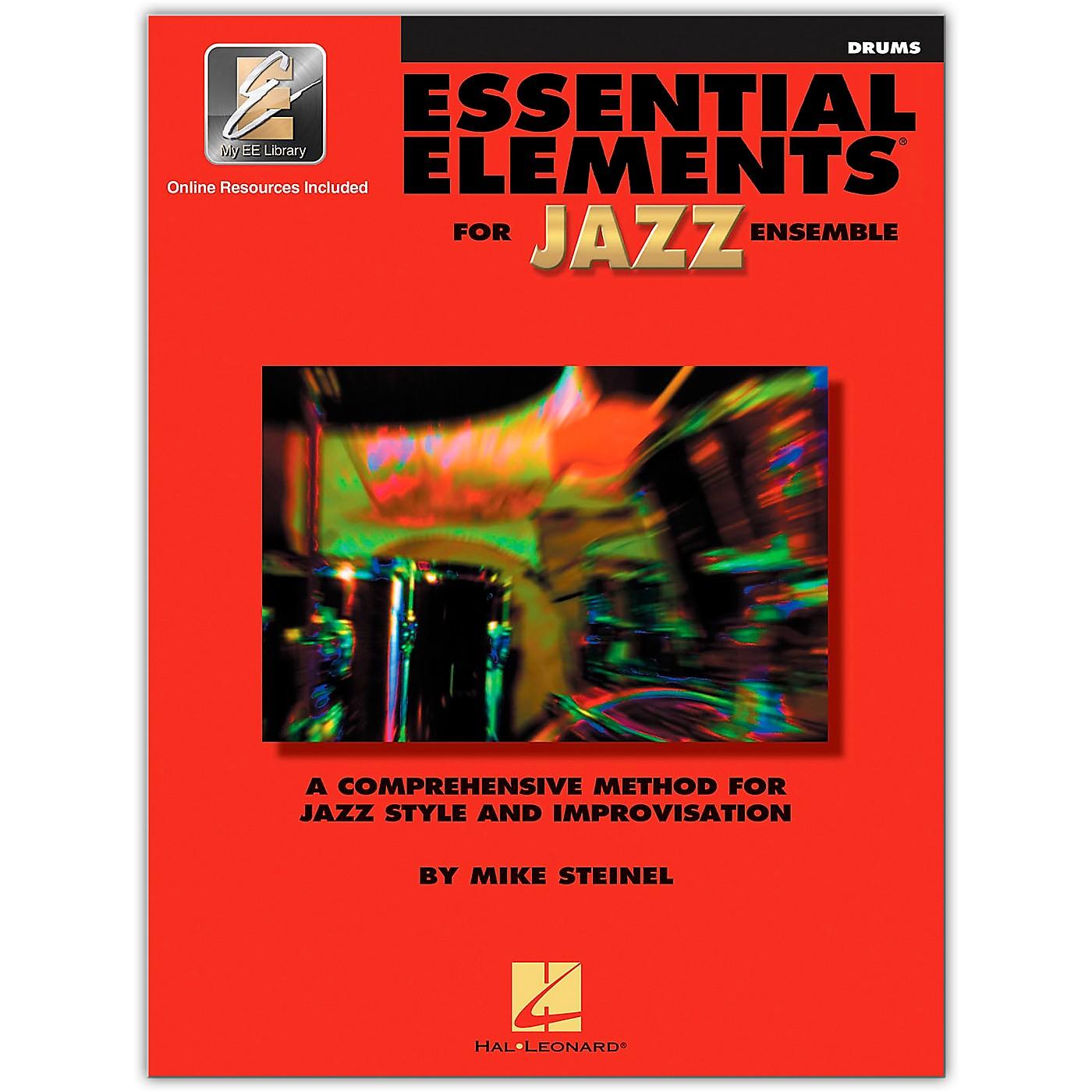 Hal Leonard Essential Elements for Jazz Ensemble - Drums (Book/Online Audio) thumbnail