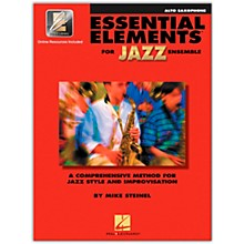 Hal Leonard Essential Elements for Jazz Ensemble - Eb Alto Saxophone (Book/Online Audio)