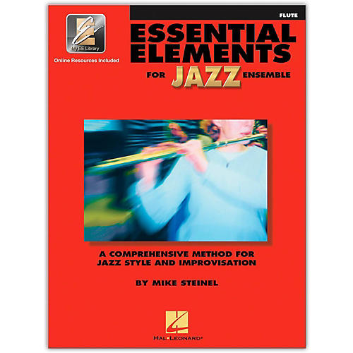 Hal Leonard Essential Elements for Jazz Ensemble - Flute (Book/Online Audio) thumbnail