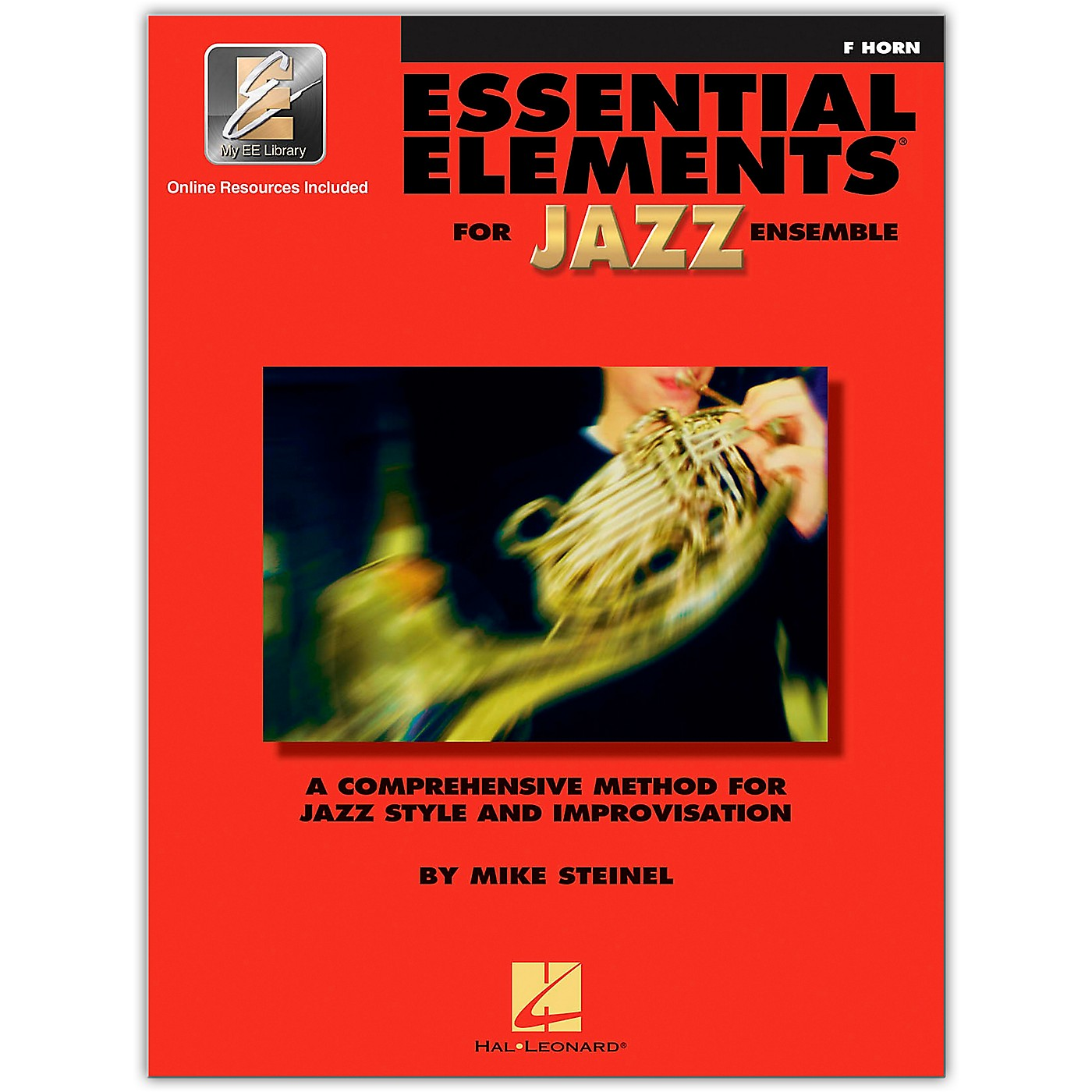 Hal Leonard Essential Elements for Jazz Ensemble - French Horn (Book/Online Audio) thumbnail