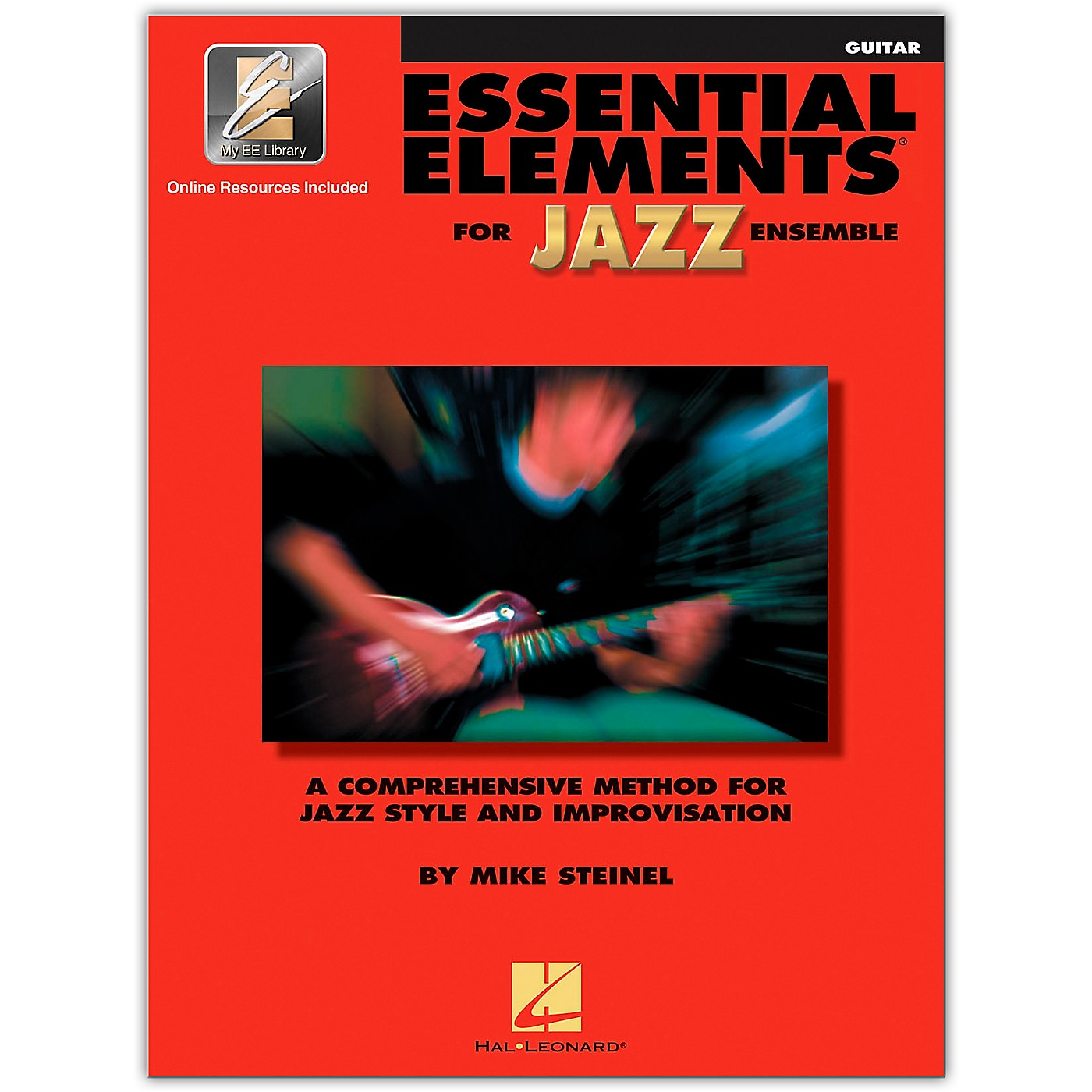 Hal Leonard Essential Elements for Jazz Ensemble - Guitar (Book/Online Audio) thumbnail