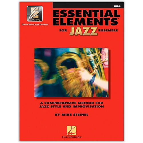 Hal Leonard Essential Elements for Jazz Ensemble - Tuba (Book/Online Audio)-thumbnail