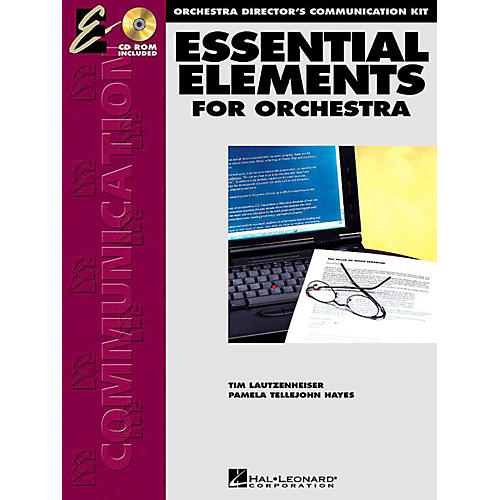 Hal Leonard Essential Elements for Orchestra - Orchestra Director's Communication Kit (with CD-ROM) thumbnail