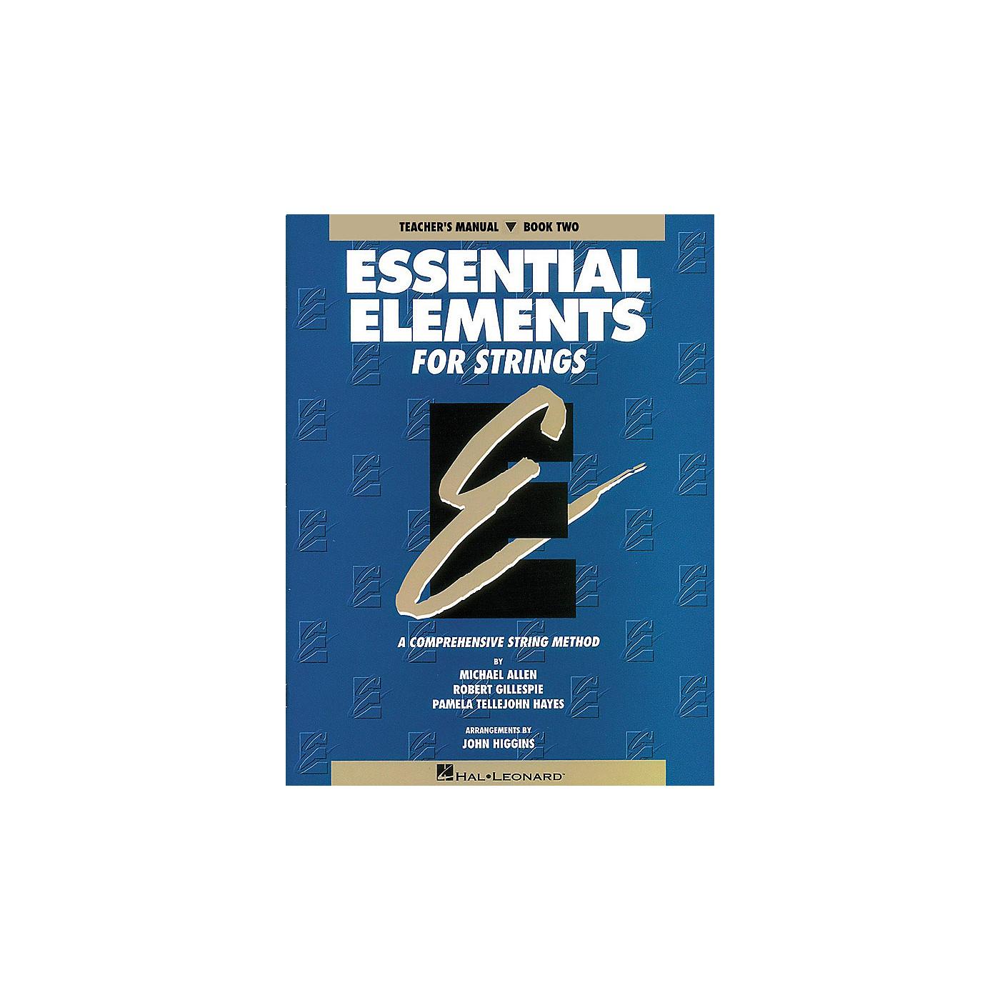 Hal Leonard Essential Elements for Strings - Book 2 (Original Series) Essential Elements Series Softcover thumbnail