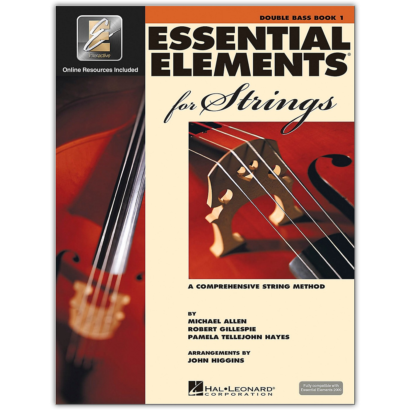 Hal Leonard Essential Elements for Strings - Double Bass 1 Book/Online Audio thumbnail