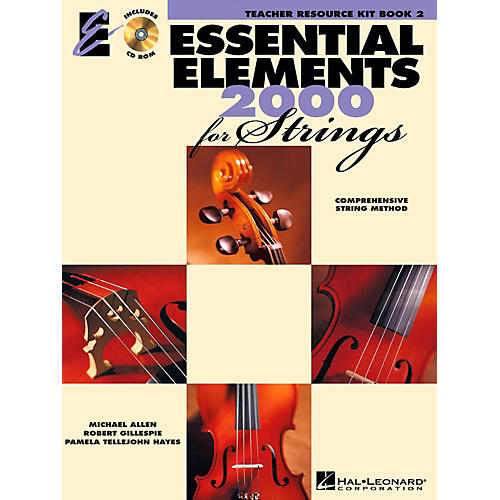 Hal Leonard Essential Elements for Strings - Teacher Resource Kit (Book 2 with CD-ROM) thumbnail