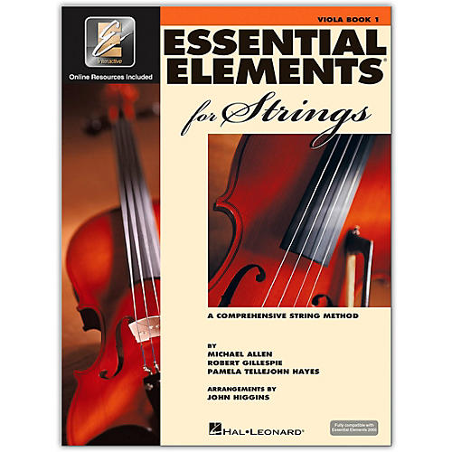 Hal Leonard Essential Elements for Strings - Viola 1 Book/Online Audio thumbnail