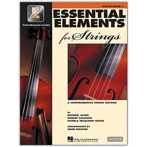 Hal Leonard Essential Elements for Strings - Violin 1 Book/Online Audio thumbnail