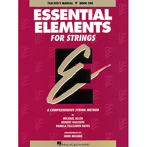 Hal Leonard Essential Elements for Strings Book 1-thumbnail