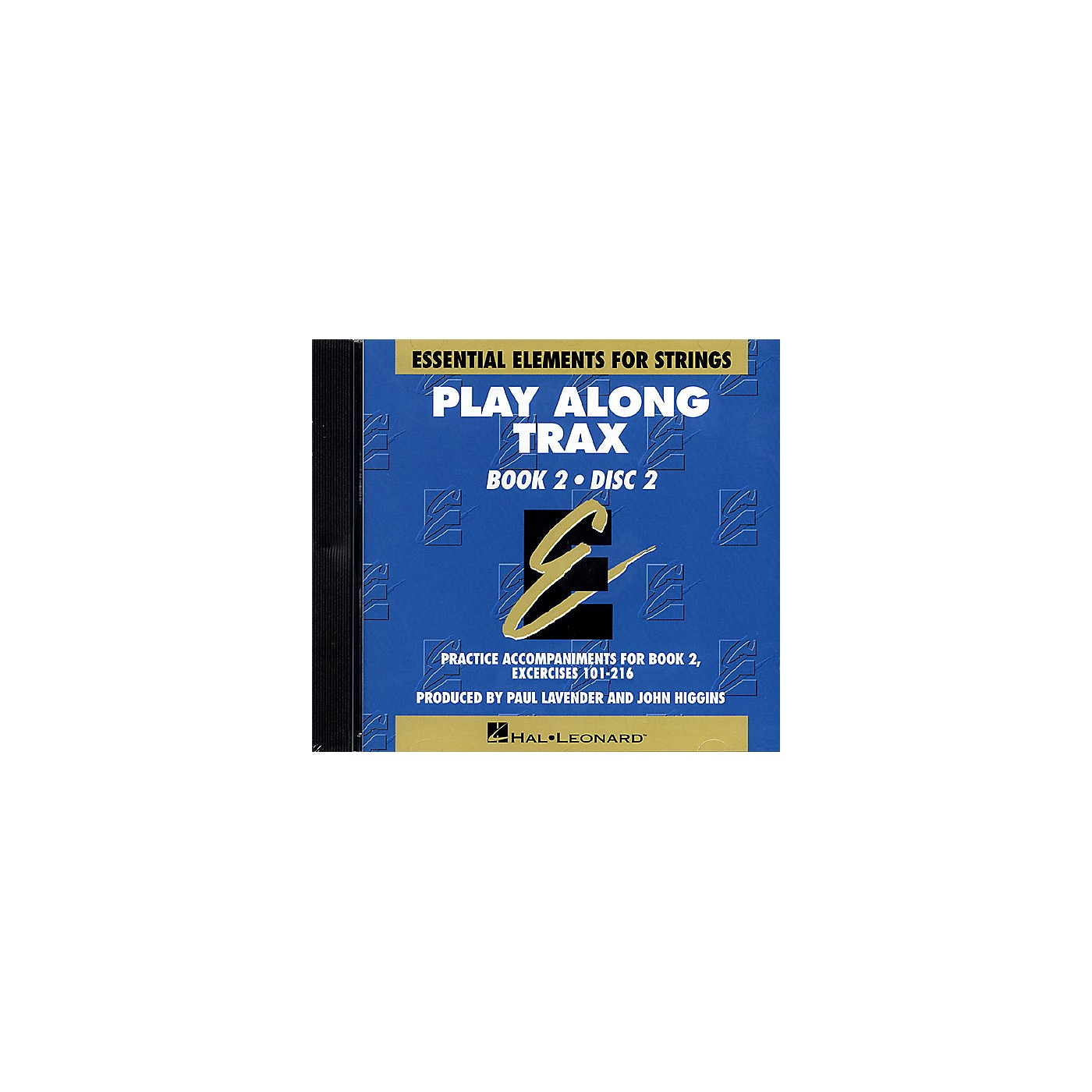 Hal Leonard Essential Elements for Strings Play-Along Trax - Book 2, Disc 2 Essential Elements CD by John Higgins thumbnail