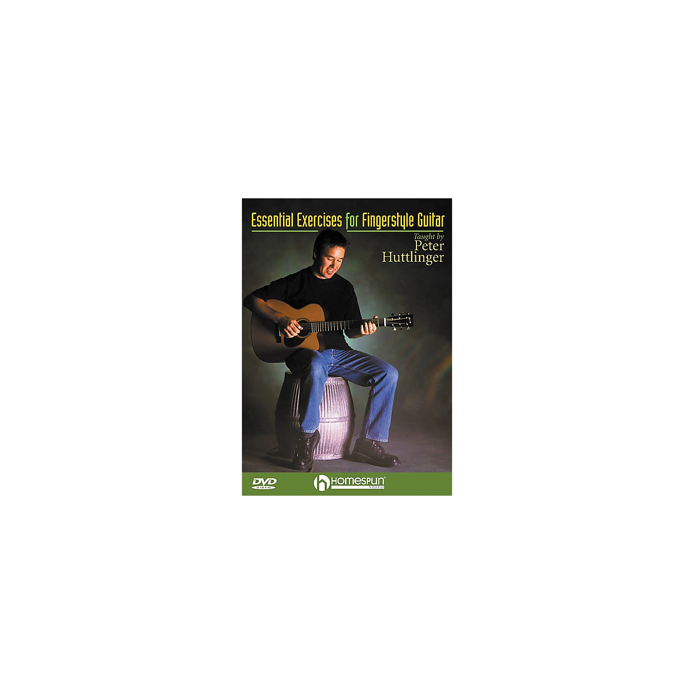 Homespun Essential Exercises for Fingerstyle Guitar (DVD) thumbnail