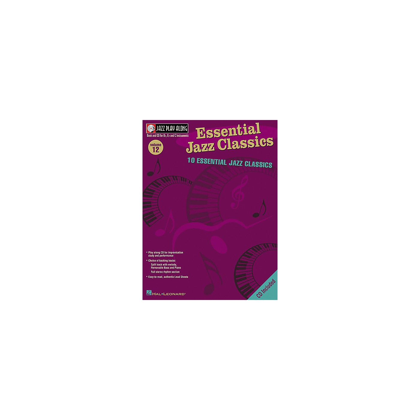 Hal Leonard Essential Jazz Classics - Jazz Play Along Volume 12 Book with CD thumbnail