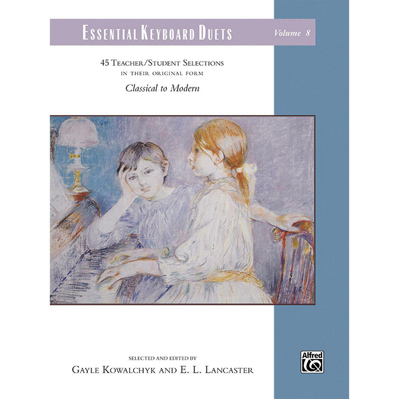 Alfred Essential Keyboard Duets, Volume 8 Comb Bound Book Elementary / Late Elementary thumbnail